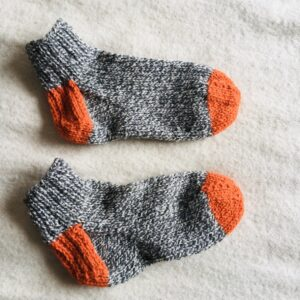 grey orange vamps